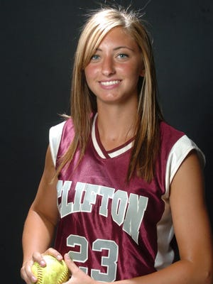 Clifton's Deanna Giordano earned North Jersey Pitcher of the Year honors in 2007.