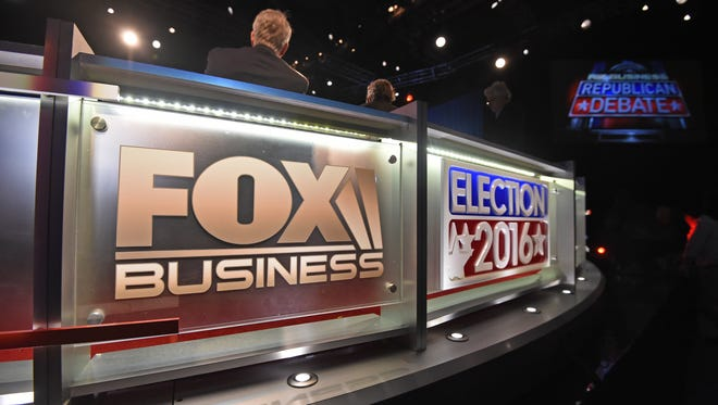 Republicans meet on Jan. 14, 2016, in North Charleston, S.C., for a debate sponsored by Fox Business Network.