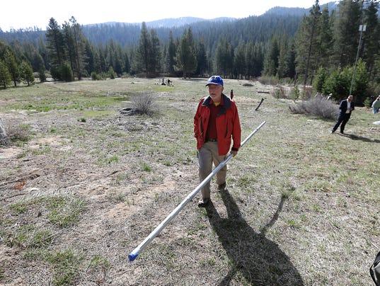 AP CALIFORNIA DROUGHT DISMAL SNOWPACK A USA CA