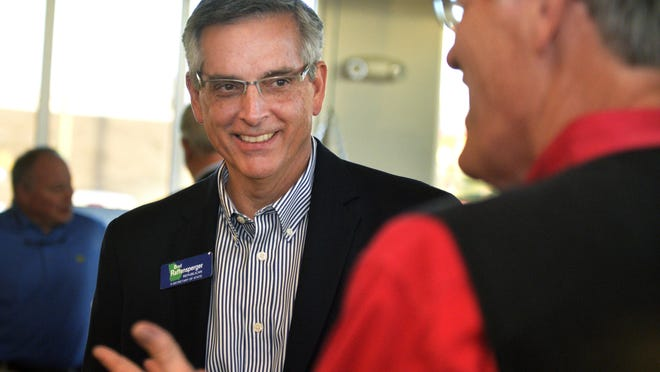 Georgia Secretary of State Brad Raffensperger certified the Georgia election results Friday.