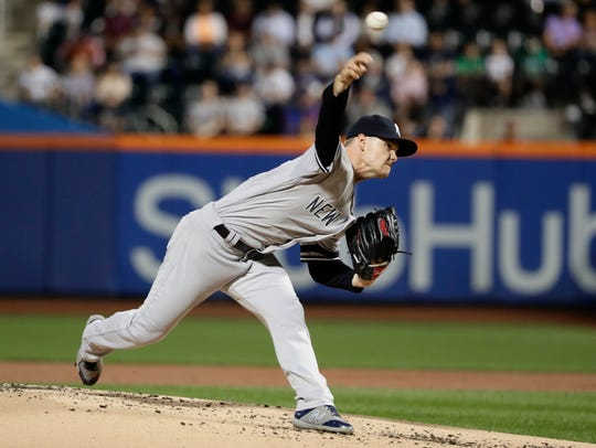Yankees' Sonny Gray went eight innings, allowing two
