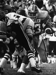 1982: Moeller football player Hiawatha Francisco. The