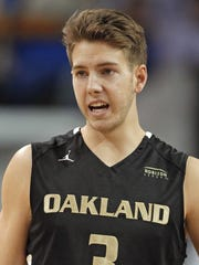 Former Oakland star Travis Bader one of two ex-Golden Grizzlies who won The Basketball Tournament with Overseas Elite on Sunday in New York.