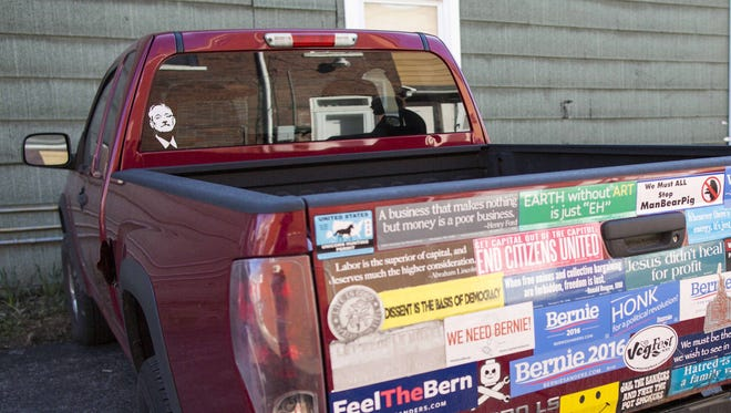 The best way to remove a bumper sticker is to use a heat gun.