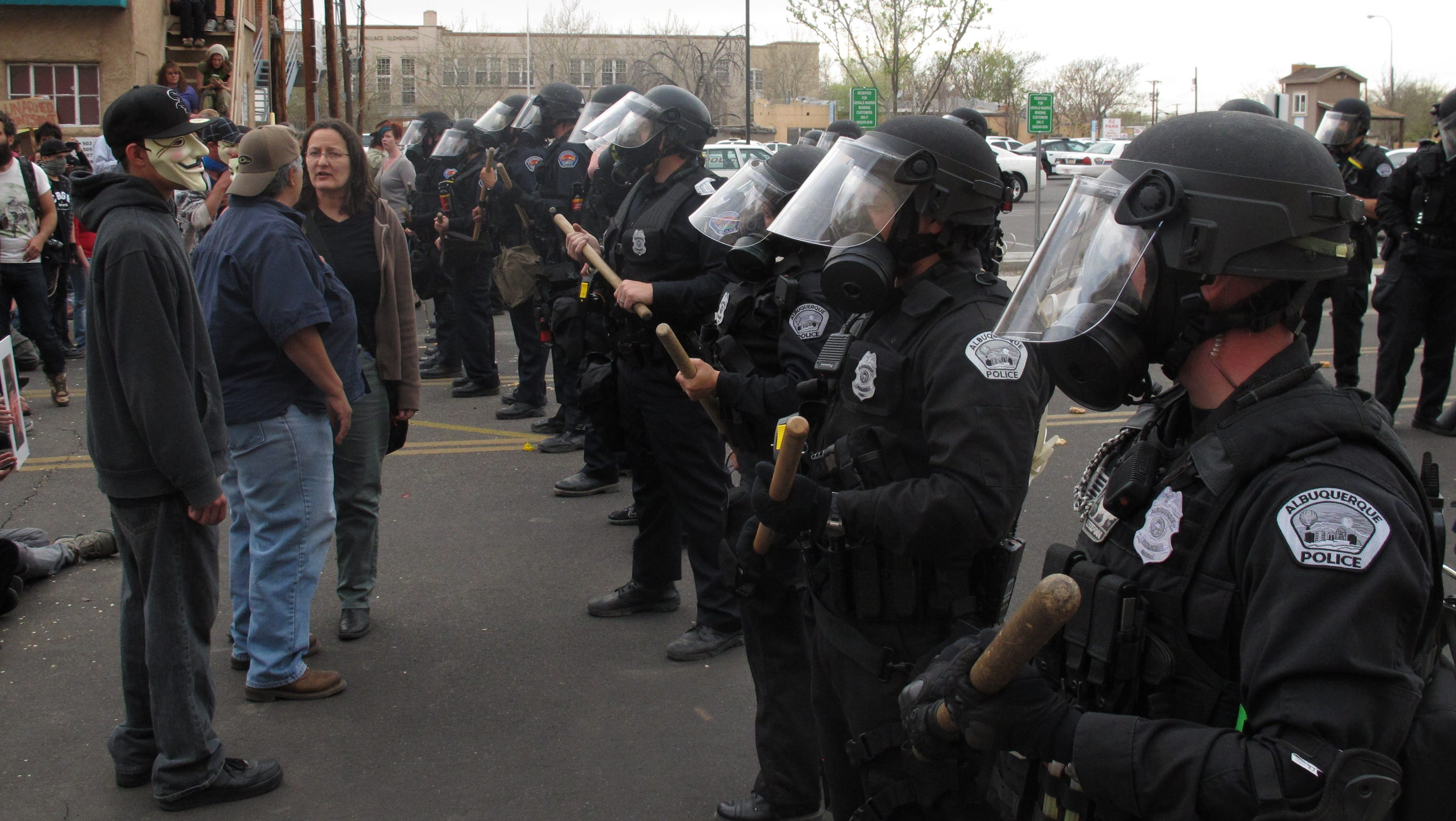 Protest News: Albuquerque Police Face Hundreds Of Protesters