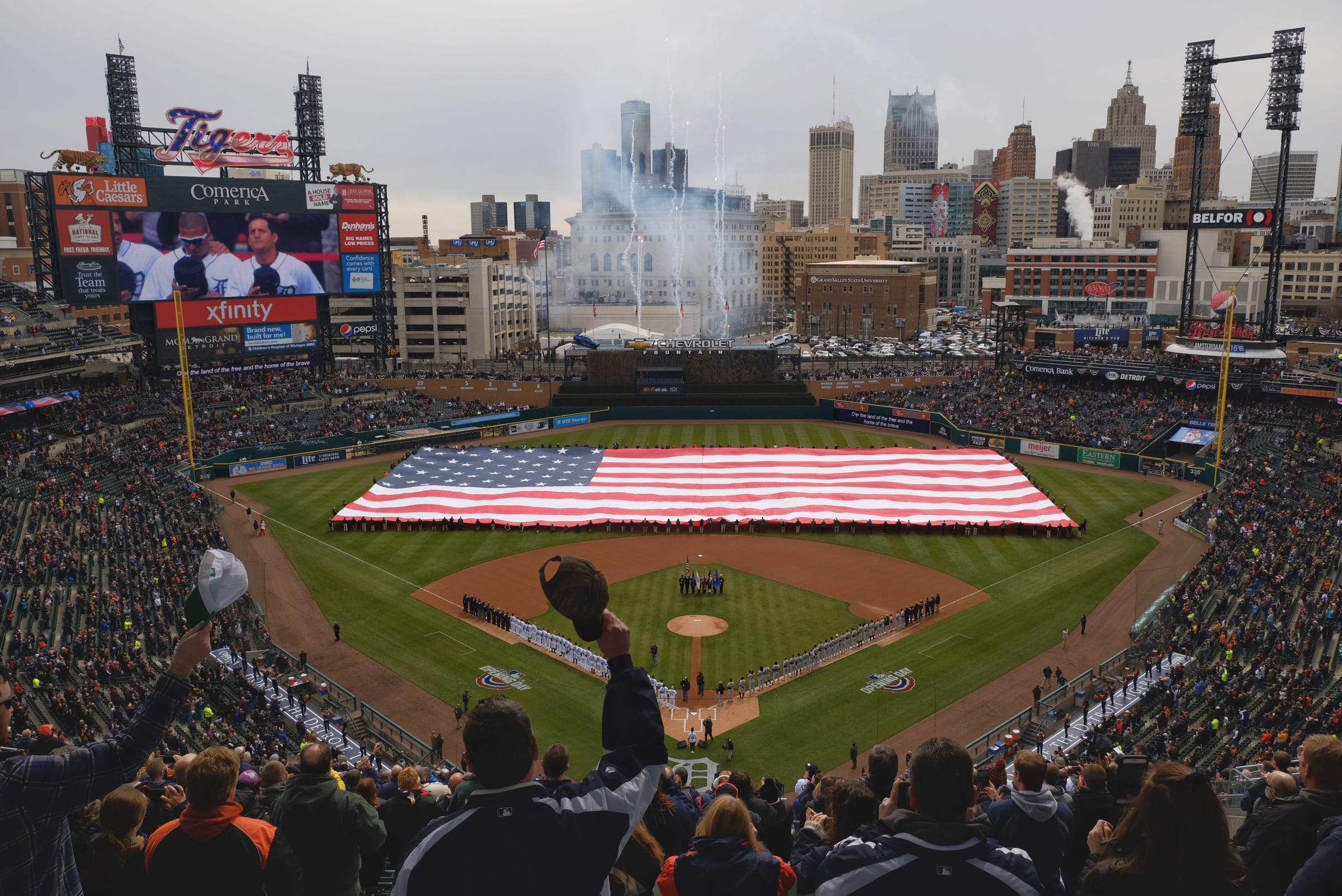 image regarding Detroit Tigers Printable Schedule identify Detroit Tigers 2019 timetable: Whenever is Opening Working day?