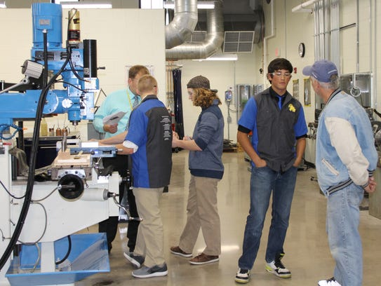 Wausau West opened its technical education classrooms
