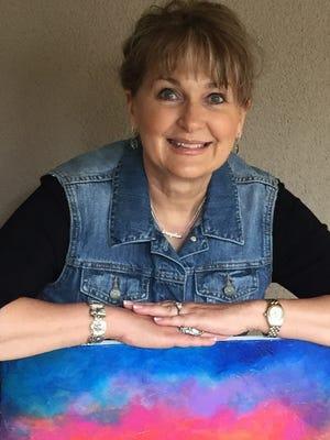 Artist Janis Loverin will show her artwork at The Adobe Fine Art Saturday.