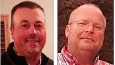 Dallas Woolf (left)and Todd Wycoff (right) have both filed for the position of Stafford County Commissioner District 2 in the coming August 4, 2020 election.