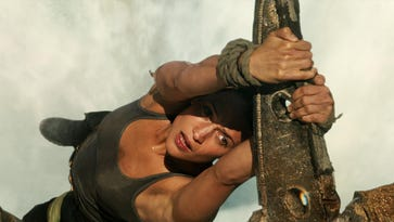 Review: Rebooted 'Tomb Raider' should stay buried