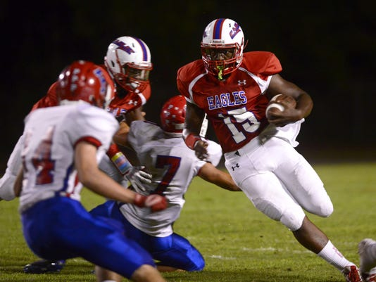 Pine Forest Eagles host Pace Patriots