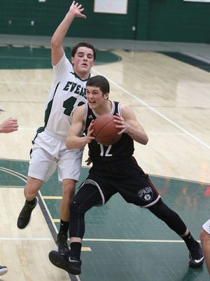 Stevens Point Area Senior High's Trev Anderson helped his team stay atop The Associated Press state rankings all season. Now the Panthers have a top seed in the postseason.