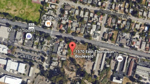 A 29-unit residential development is planned for Thompson Boulevard.