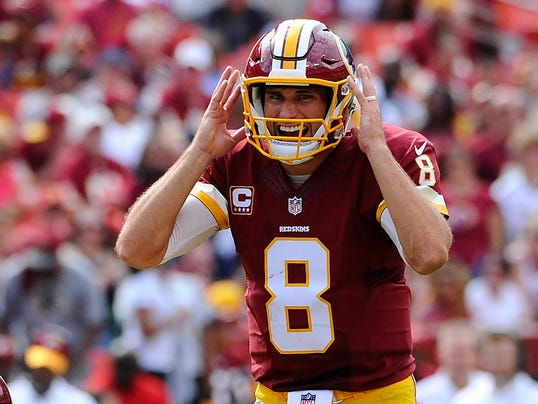 even if redskins kirk cousins is unhappy dont expect a holdout