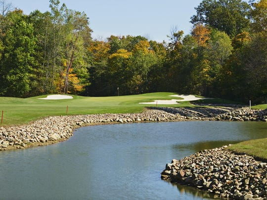 Tourney director Keith Karbo selected Travis Pointe over TPC of Michigan in Dearborn and Radrick Farms and Barton Hills in Ann Arbor.