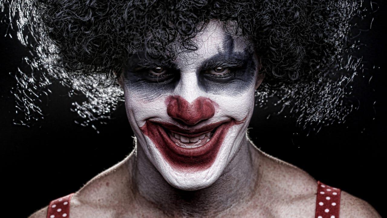 Evil clown costume sales up 300%