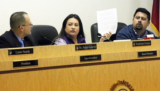 Canutillo school district board member Stephianie Frietze,