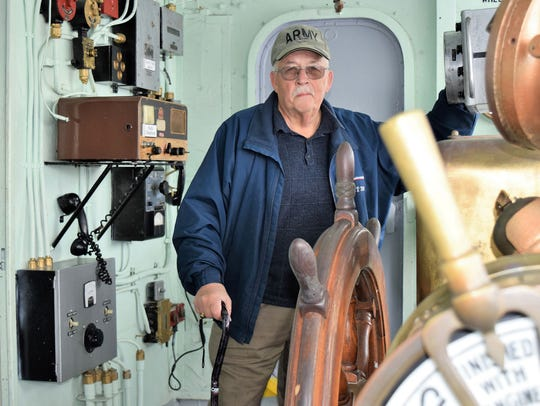 Dan Weikel of North Muskegon has been at the helm of