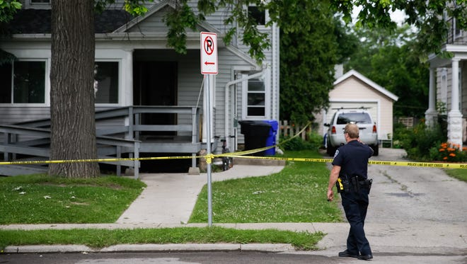 One person is dead after a house fire in the 500 block of North Division.