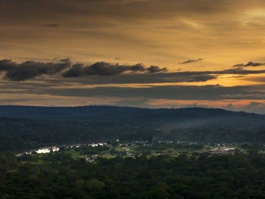 The Congo Basin.