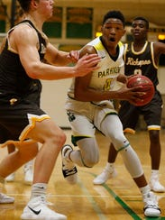 Parkview's Tyem Freeman, shown in a Dec. 1 photo, racked up some big numbers last week in games against Branson and Kickapoo.