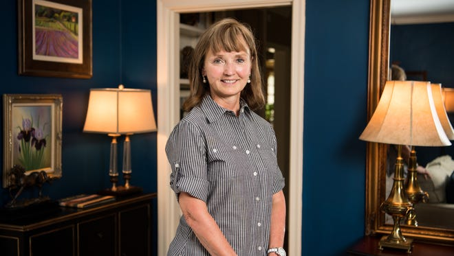 Speaker of the House Beth Harwell at her home, Thursday, July 13, 2017, in Nashville, Tenn.