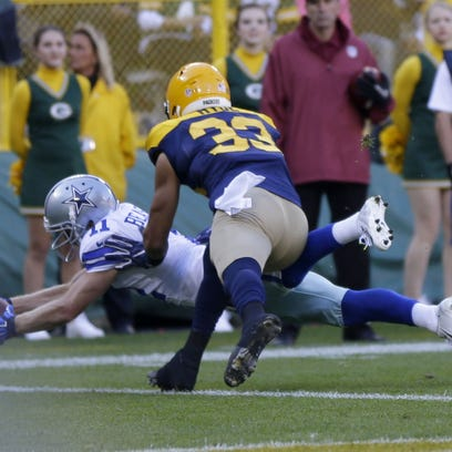 PACKERS17 PACKERS  - Dallas Cowboys wide receiver Cole