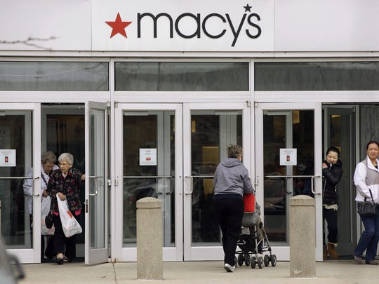 Macy's is expected to open 5 p.m. Thanksgiving.