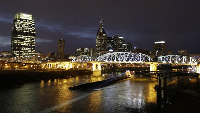 A view of Nashville.