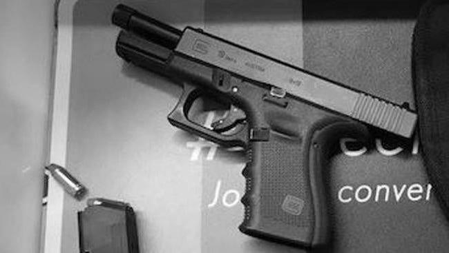 The semi-automatic handgun