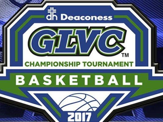 GLVC basketball logo