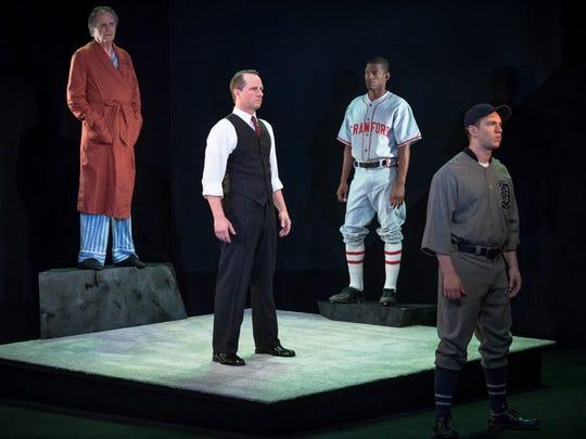 (From left)  Stephen Bradbury, Todd Lawson, Damian
