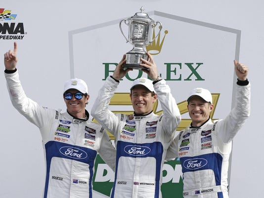 Scott Dixon,Richard Westbrook,Ryan Briscoe