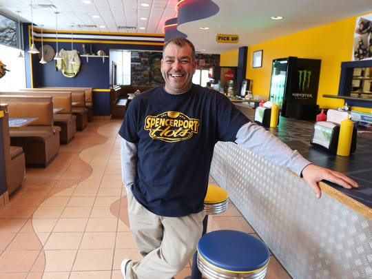 Joe Nucci Jr. is the owner of Spencerport Hots.