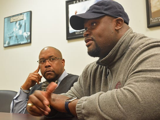 Probation officer LaMarcus Williams talks about a juvenile
