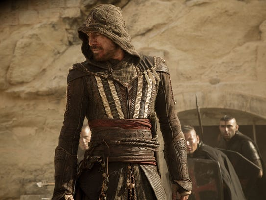 Aguilar (Michael Fassbender) is about to take on bad