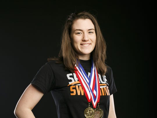 Sprague swimmer Alexis Smith for the Statesman Journal