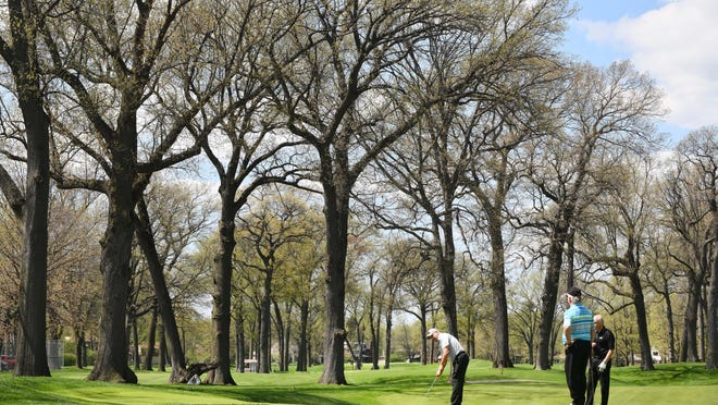 Green speeds will be among the topics of conversation for a PGA event at Detroit Golf Club.