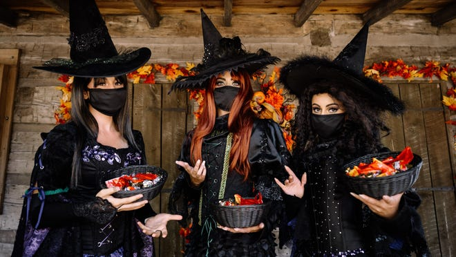 The Witch Sisters will offer up tricks and treats to kids this fall at Cedar Point.