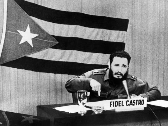 Fidel Castro in 1962