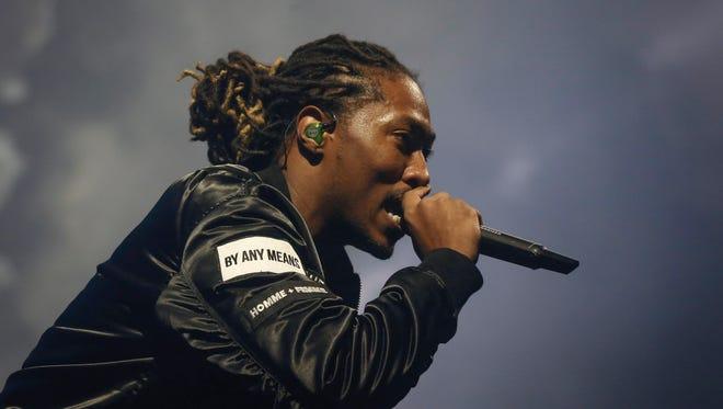Grammy-winning hip-hop performer Future will headline this year's Jmblya concert on Sept. 5 at Germania Insurance Amphitheater.