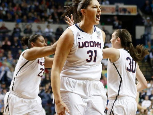 NCAA Championship Final Four Notre Dame UConn Basketball (2)