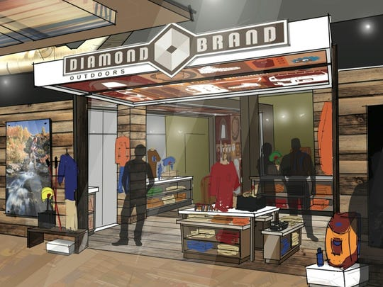 Diamond Brand Outdoors now has a store on Hendersonville Road in South Asheville and downtown in the Aloft Hotel.