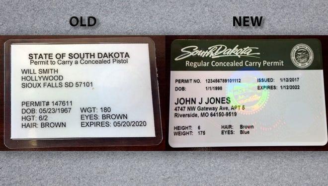Old permit vs. New permit