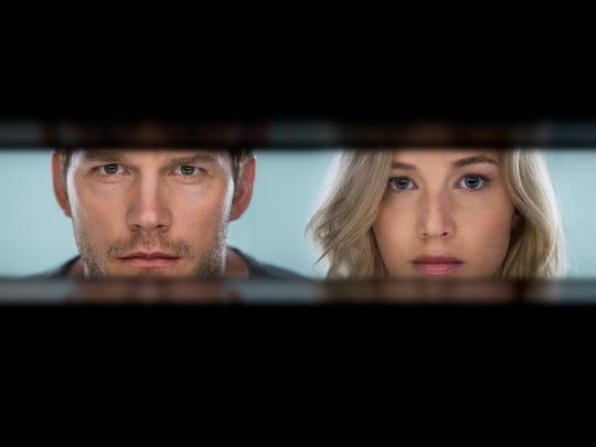 Passengers Trailer Jennifer Lawrence And Chris Pratt Find Romance