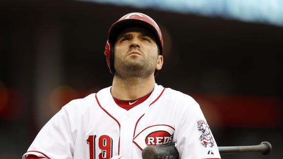 Joey Votto is eligible to come off the disabled list May 31.