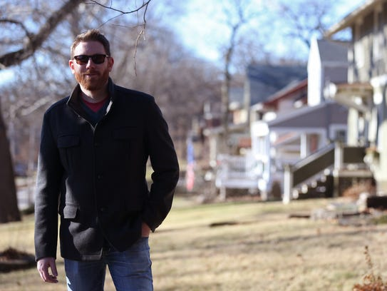 Matt Collins, homeowner in the Woodland Heights neighborhood