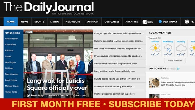 No matter where you are, you can access the print edition daily on your computer, mobile device, or tablet by accessing the e-Edition.