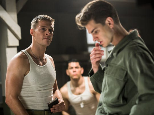 "In ""Hacksaw Ridge,"" Desmond (Andrew Garfield, right)"