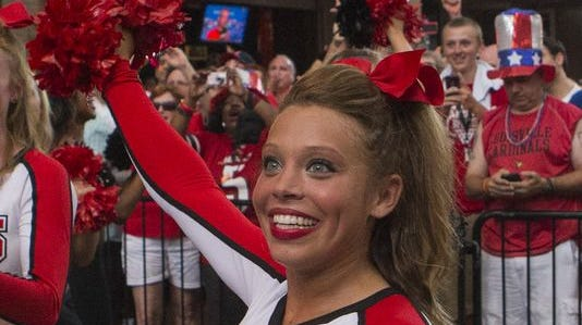 Dani Cogswell, a 22-year-old student at the University of Louisville was found dead in an apartment complex on U of L's campus. Cogswell was a U of L cheerleader.